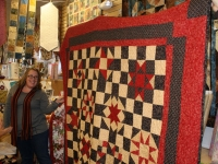 Kim (Her very first quilt!)