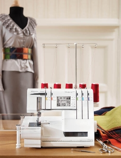 Husqvarna Viking S25 Serger Sewing Machine