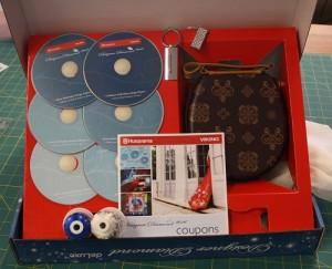 Husqvarna Viking Designer Diamond Deluxe CD Box