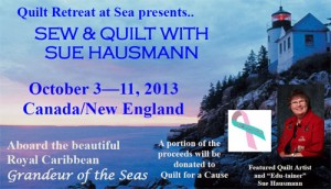 Quilting with Sue Hausmann