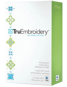 TruEmbroidery Sewing Machine Software for Mac