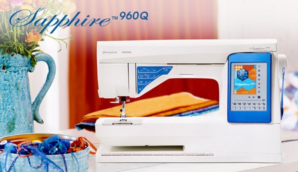 Pfaff Sapphire 960Q Sewing Machine