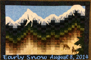 Early Snow Quilt Kit