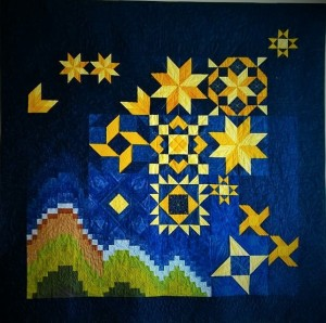 Castle Rock Dusk - Saturday Sampler Pattern