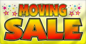 Moving Sale Icon