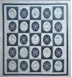 Winter Blues Quilt Kit
