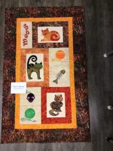 Cat's Meow Quilt Kit