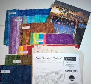 Geese Migrations Quilt Kit at Sew-ciety