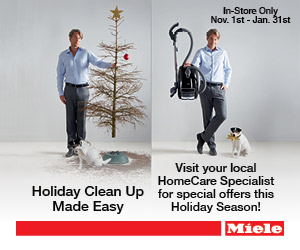 Miele Holiday Cleanup