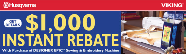 EPIC Instant Rebate - March 16